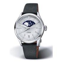 Oris Steel Automatic Silver 36mm new Artelier Date