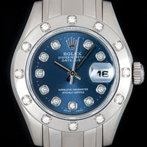 Rolex Lady-Datejust Pearlmaster White gold 29mm Blue United Kingdom, London