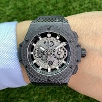 Hublot Chronograph 48mm Automatik 2012 gebraucht King Power Transparent