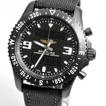 Breitling Chronospace Military Сталь 46mm Чёрный