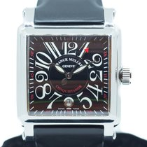 Franck Muller pre-owned Automatic 41mm Black Sapphire crystal 3 ATM