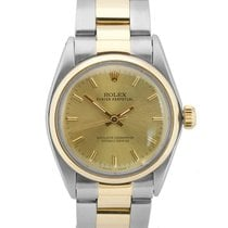 Rolex Gold/Steel 31mm Automatic 6748 pre-owned