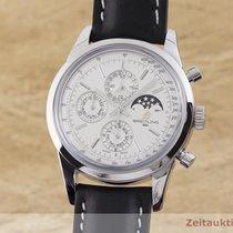 Breitling Transocean Chronograph Stahl 43mm Silber Deutschland, Chemnitz