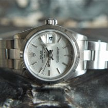 Rolex Oyster Perpetual Lady Date Steel 26mm Silver United Kingdom, Whitby- North Yorkshire