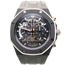 Audemars Piguet Titanium Manual winding Grey 44mm new Royal Oak Tourbillon