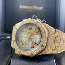 Audemars Piguet Royal Oak Offshore Chronograph Or jaune 42mm Or Arabes
