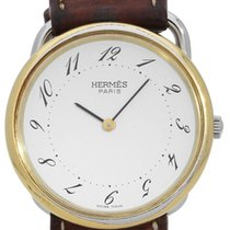 Hermès Damenuhr Arceau 33mm Quarz Nur Uhr 1992