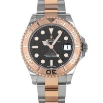 Rolex Yacht-Master 37 Gold/Steel 37mm Black No numerals United States of America, Maryland, Baltimore, MD