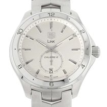 TAG Heuer Link Calibre 6 pre-owned 40mm Silver Date Steel