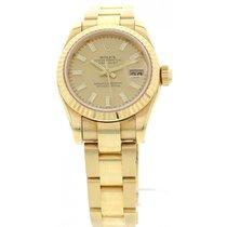 Rolex Datejust 18K Yellow Gold Watch 179178