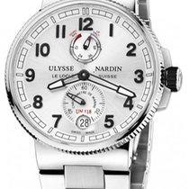 Ulysse Nardin Marine Chronometer Manufacture 1183-126-7m/61 Очень хорошее Сталь 43mm Автоподзавод