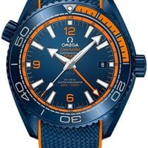 Omega Seamaster Planet Ocean Ceramic 45.5mm Blue United States of America, New York, Airmont