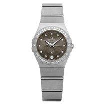Omega Constellation Ladies Steel 27mm Grey
