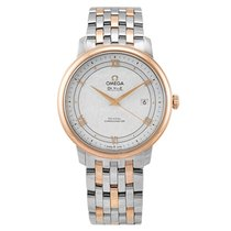 Omega Gold/Steel 39.5mm Automatic 424.20.40.20.02.002 new