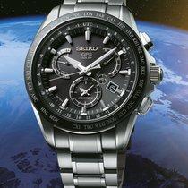 Seiko 45mm Quarz 2016 neu Astron GPS Solar Chronograph