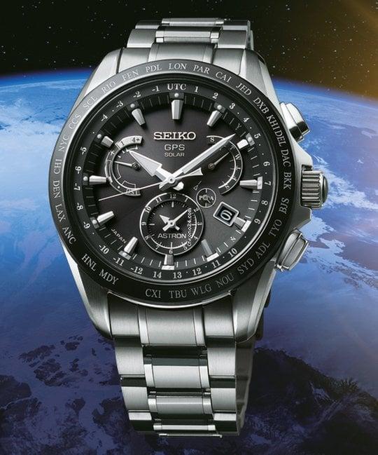 b61edb7accc Seiko SSE045J1 SEIKO ASTRON GPS SOLAR TITAN for AU  2