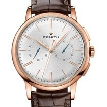 Zenith Elite Chronograph Classic Or rose 42mm Argent
