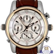 Maurice Lacroix Masterpiece Chrono Globe Two Tone Rose MP6398...