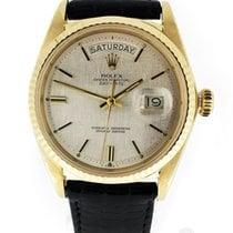 Rolex Day-Date 36 Yellow gold 36mm Silver No numerals Australia, Chadstone Victoria