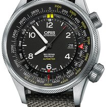 Oris Big Crown ProPilot Altimeter Steel 47mm Black United States of America, New York, Airmont
