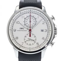 IWC Portuguese Yacht Club Chronograph pre-owned 45.5mm Steel