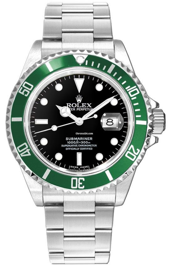 Rolex Submariner Date 50TH ANNIVERSARY Most Stickers Steel On