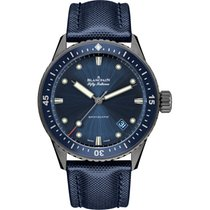 Blancpain Fifty Fathoms Bathyscaphe Ceramic 43.6mm Blue No numerals United States of America, New York, New York