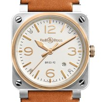 Bell & Ross BR 03-92 Steel new Automatic Watch with original box and original papers BR0392-ST-PG/SCA