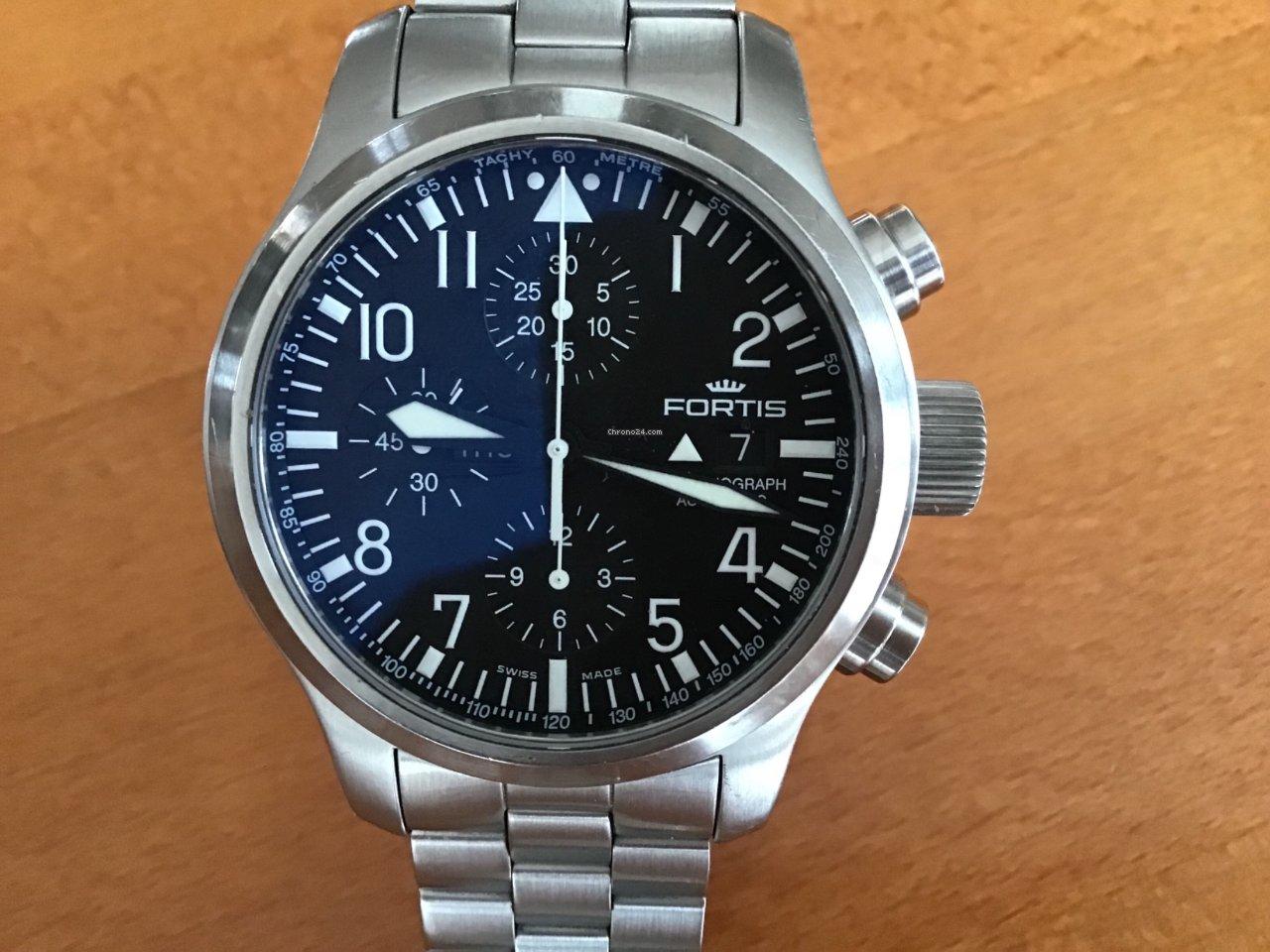 02a164233 Koupě hodinek Fortis | Porovnání hodinek Fortis online - luxusní hodinky na  Chrono24