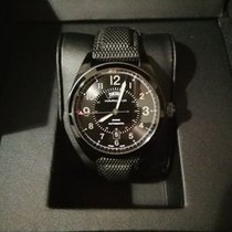 Hamilton Khaki Field Day Date Acier 42mm Noir Arabes France, Paris