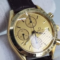 Omega Speedmaster (Submodel) pre-owned Yellow gold