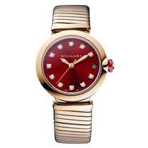 Bulgari Lucea Gold/Steel Red