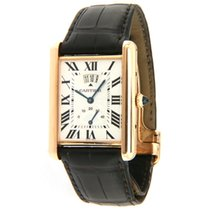 Cartier Tank Louis Cartier Rose gold 30mm Silver Roman numerals United States of America, Virginia, Vienna