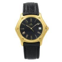 Ebel 1911 Yellow gold 37mm Black Roman numerals United States of America, New York, NYC