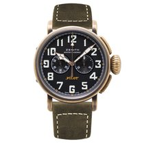 Zenith Bronze Automatic Black 45mm new Pilot Type 20 Extra Special