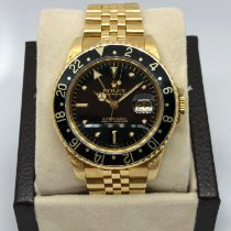 Rolex GMT-Master Yellow gold 40mm No numerals