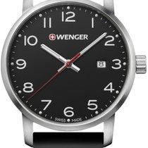 Wenger Steel Quartz 01.1641.101 new