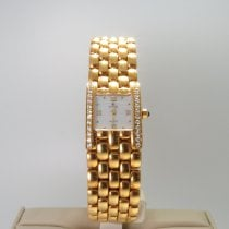 Cyma Oro amarillo 18mm Cuarzo 18kt Gold & Diamond Cyma ladies watch new old stock nuevo