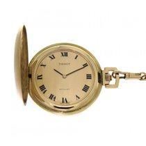 Tissot Sat rabljen Zuto zlato 42mm Rimski brojevi Rucno navijanje Samo sat