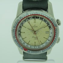 Enicar Steel 42mm Automatic Sherpa pre-owned