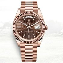 Rolex Red gold Automatic No numerals 40mm new Day-Date 40
