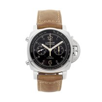 Panerai Luminor 1950 3 Days Chrono Flyback pre-owned 44mm Black Flyback Leather