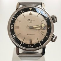 Alpina Acier 36mm Remontage automatique Seastrong occasion