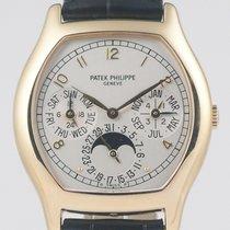 Patek Philippe Perpetual Calendar Geelgoud 36mm Zilver Arabisch