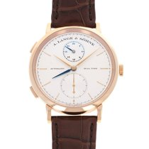 A. Lange & Söhne 385.032 Red gold 2016 Saxonia 40mm pre-owned United States of America, California, Beverly Hills