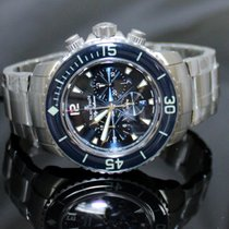 Blancpain Fifty Fathoms Flyback Chronograph Blue Dial