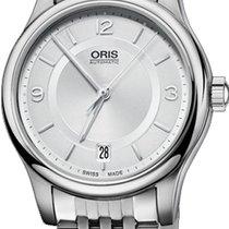 Oris Classic Steel Silver United States of America, New York, Brooklyn