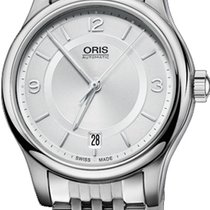 Oris Classic Steel Silver United States of America, New York, Brooklyn