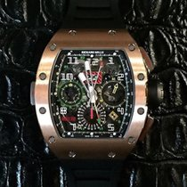 Richard Mille RM11-02 RED ROSE PINK GOLD GMT [NEW]
