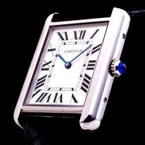 Cartier Tank Solo hochwertige Luxusherrenuhr